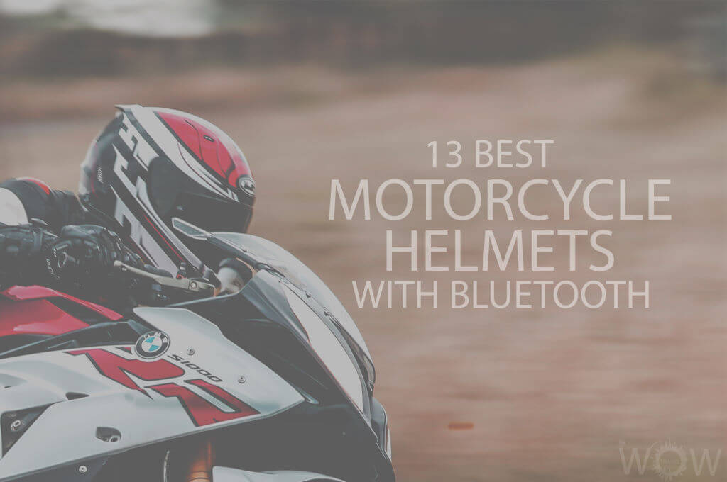 13 Best Motorcycle Helmets with Bluetooth