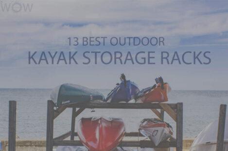 13 Best Outdoor Kayak Storage Racks