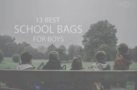 13 Best School Bags For Boys