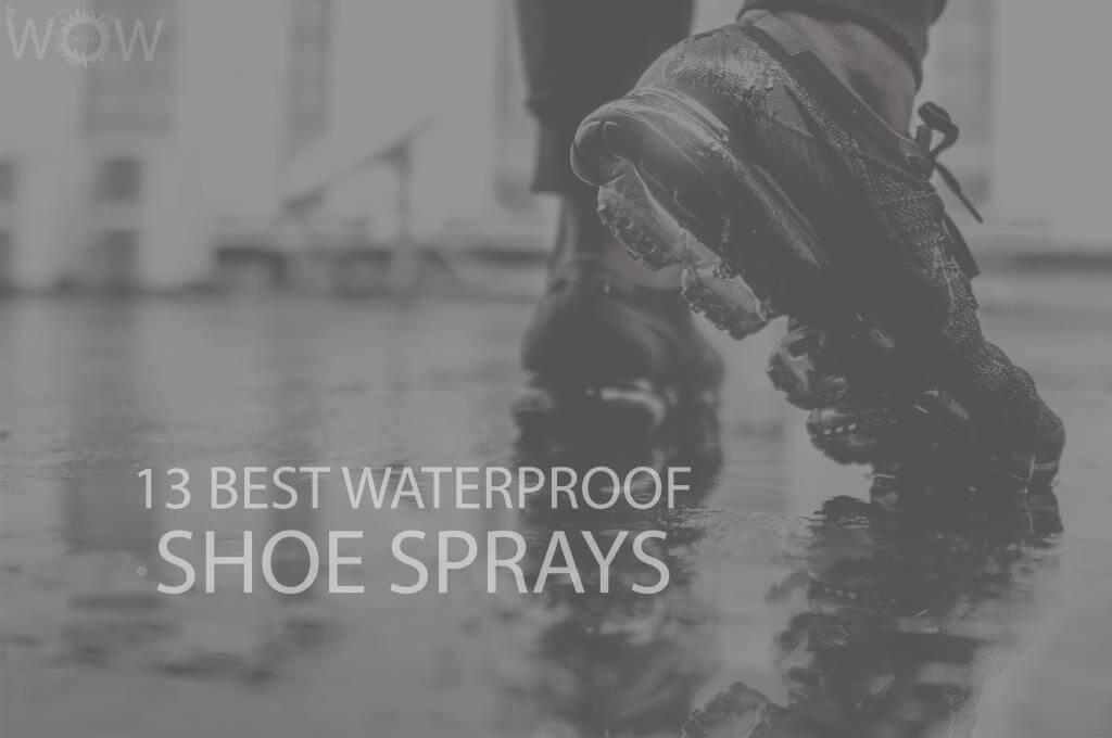 13 Best Waterproof Shoe Sprays