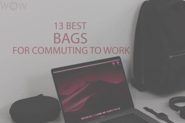 13 Best Bags For Commuting To Work