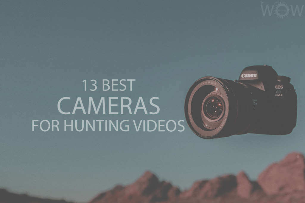 13 Best Cameras For Hunting Videos