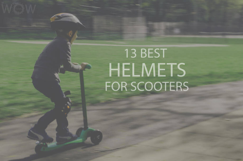 13 Best Helmets for Scooters