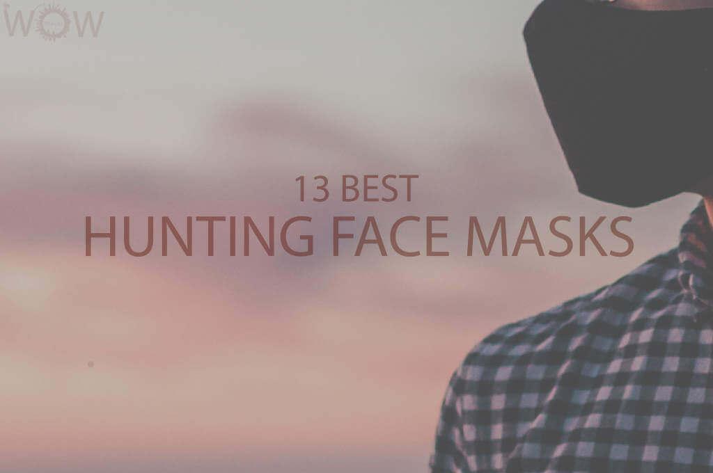 13 Best Hunting Face Masks