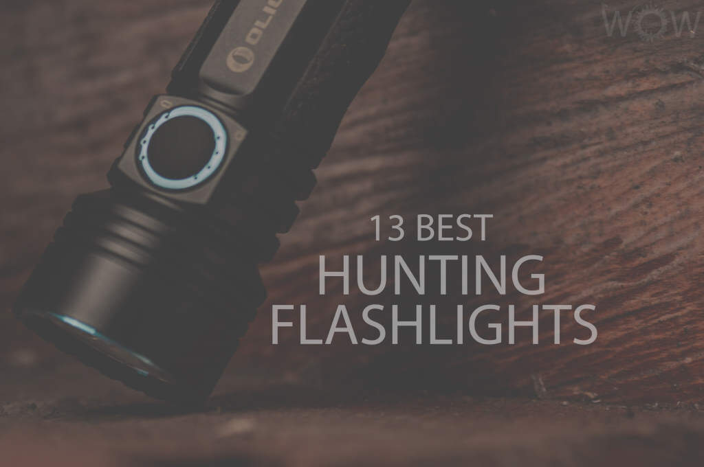 13 Best Hunting Flashlights
