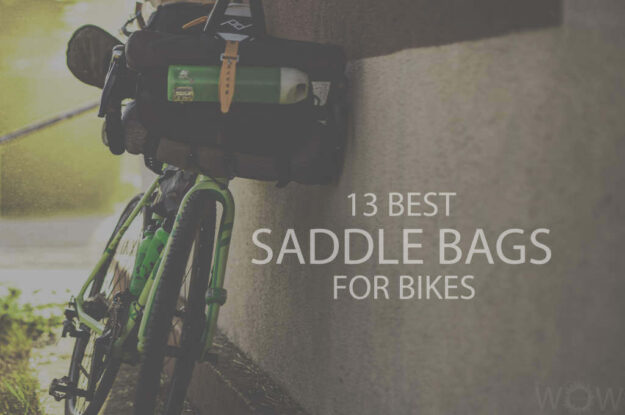 13 Best Saddle Bags For Bikes