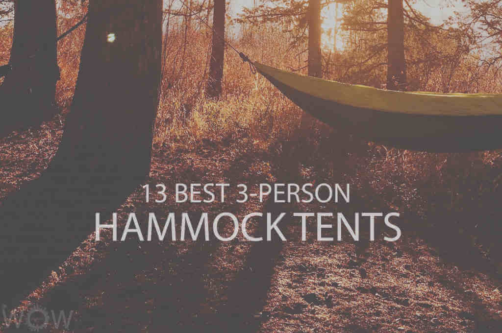 13 Best 3-Person Hammock Tents