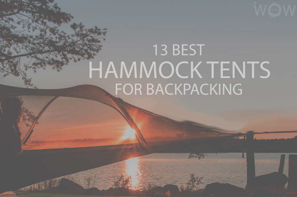 13 Best Hammock Tents for Backpacking