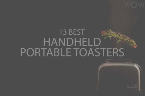 13 Best Handheld Portable Toasters