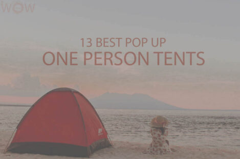 13 Best Pop Up One Person Tents