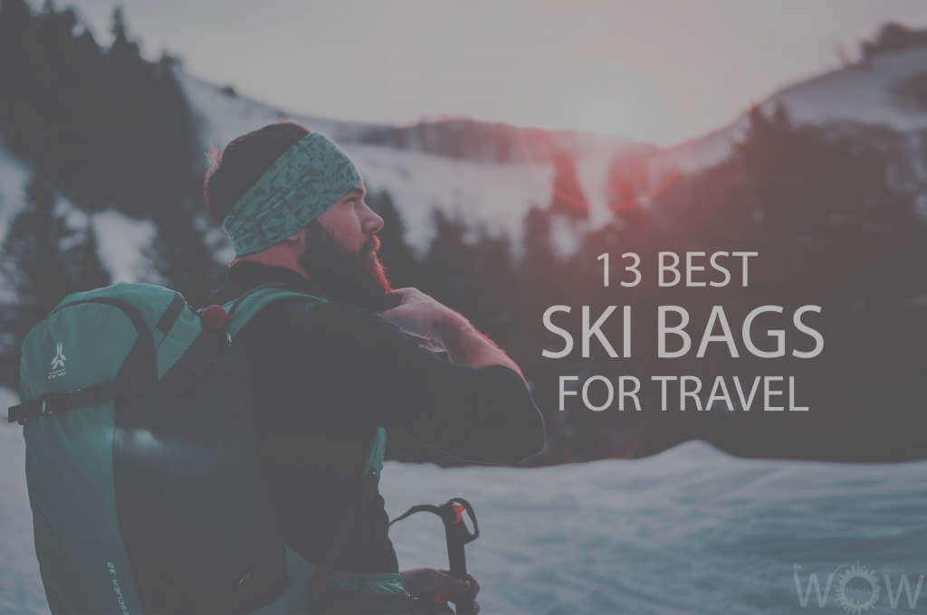 13 Best Ski Bags for Travel