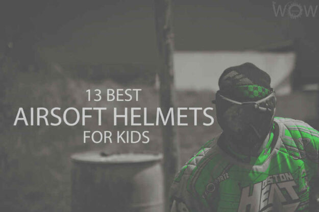 13 Best Airsoft Helmets for Kids