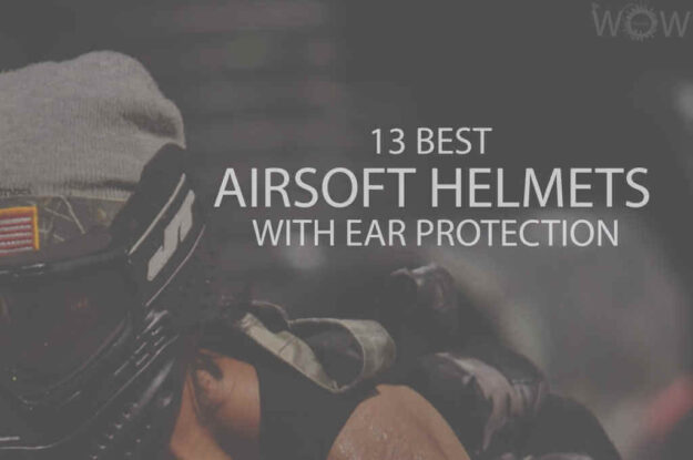 13 Best Airsoft Helmets with Ear Protection