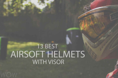 13 Best Airsoft Helmets with Visor