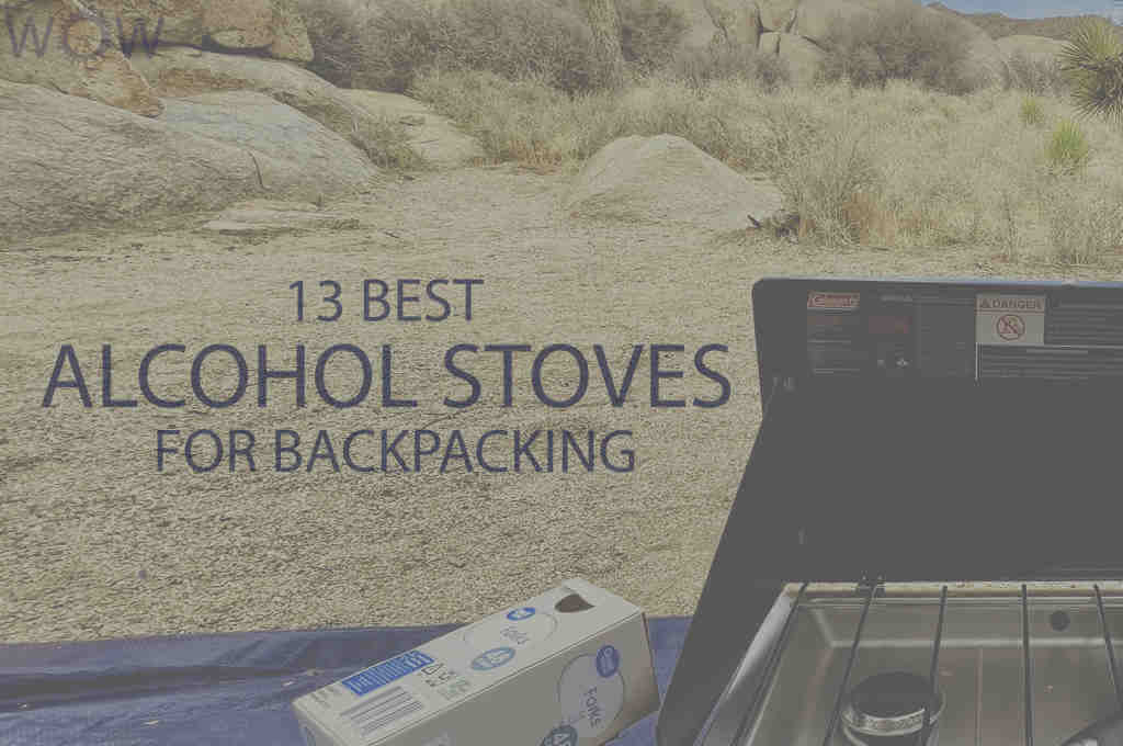 13 Best Alcohol Stoves for Backpacking