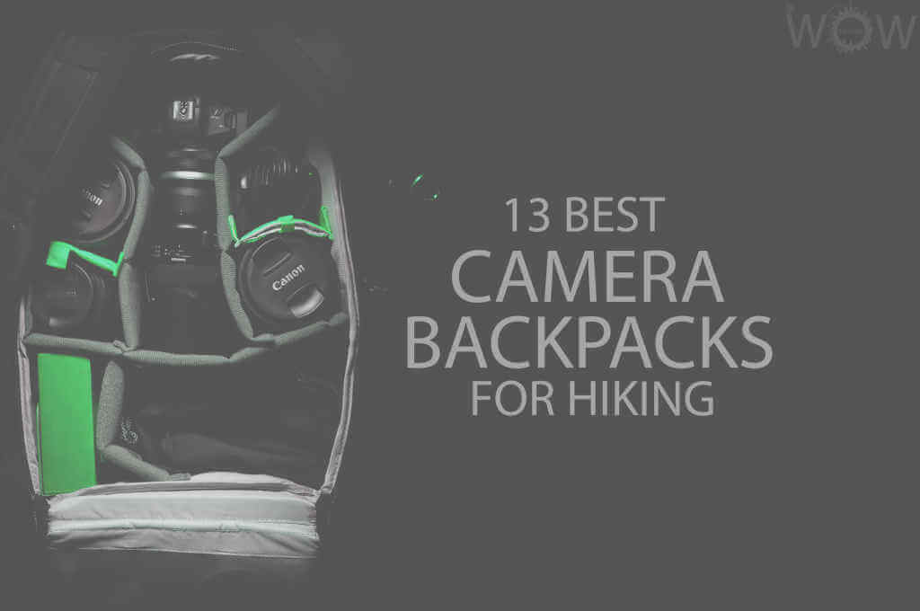 13 Best Camera Backpacks for Hiking