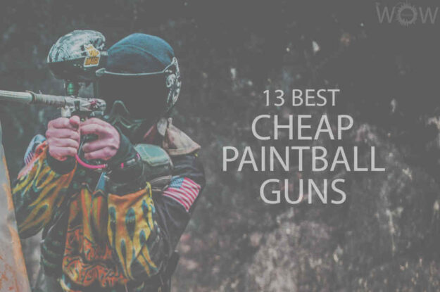 13 Best Cheap Paintball Guns