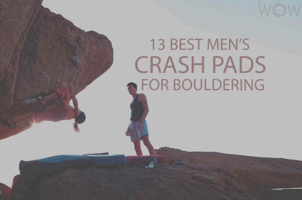 13 Best Crash Pads for Bouldering