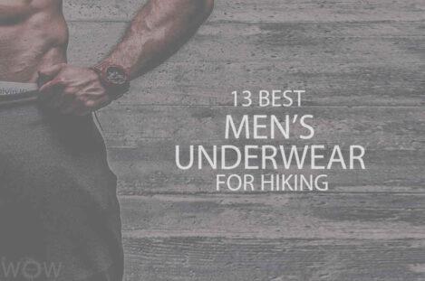 13 Best Men's Underwear for Hiking