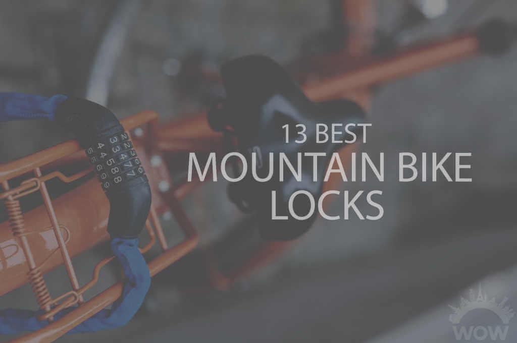 13 Best Mountain Bike Locks