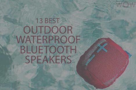 13 Best Outdoor Waterproof Bluetooth Speakers