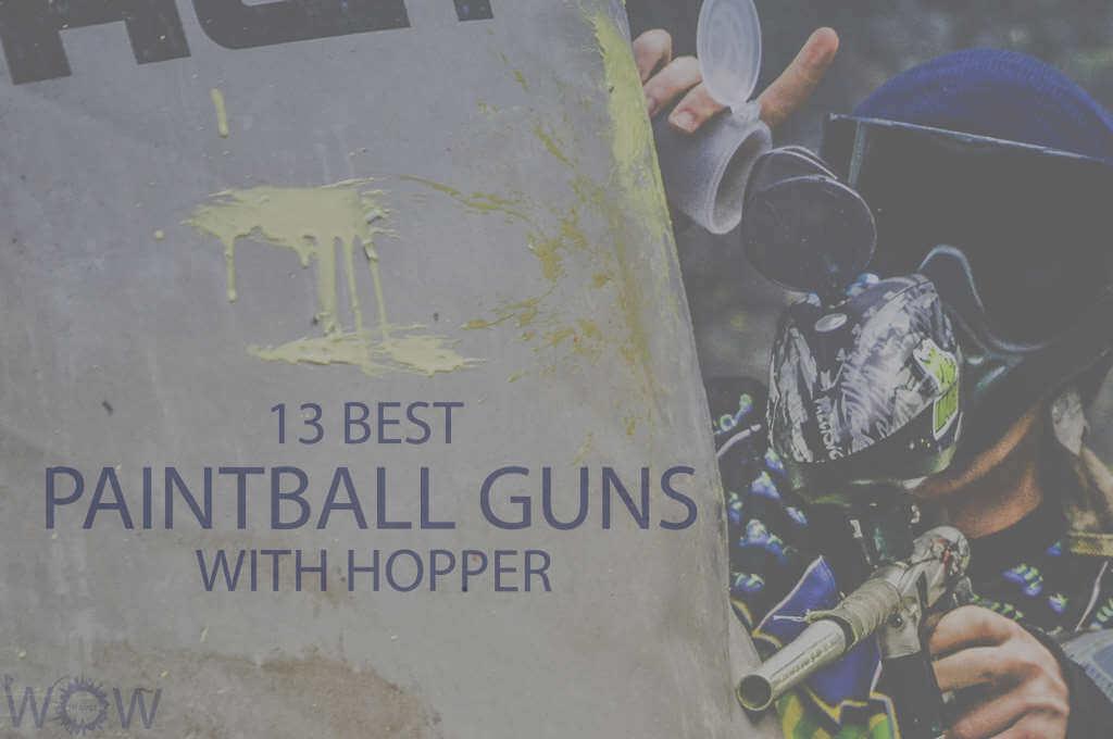 13 Best Paintball Guns with Hopper