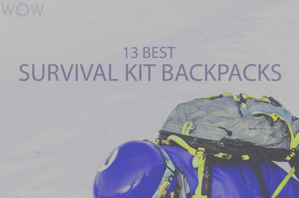 13 Best Survival Kit Backpacks
