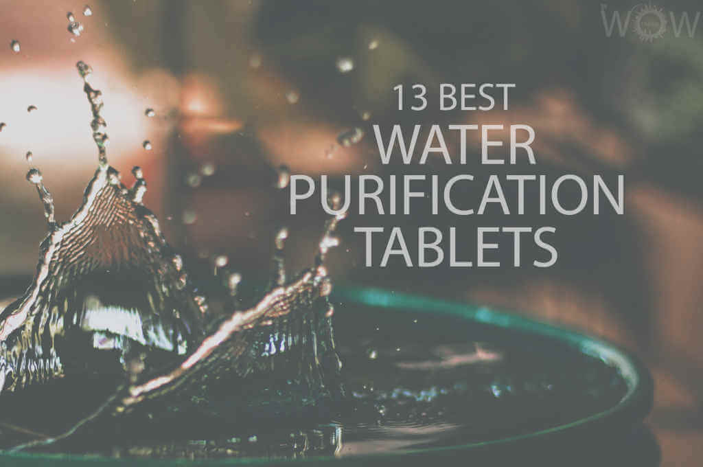 13 Best Water Purification Tablets