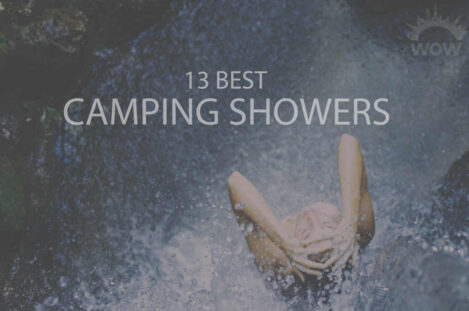 13 Camping Showers