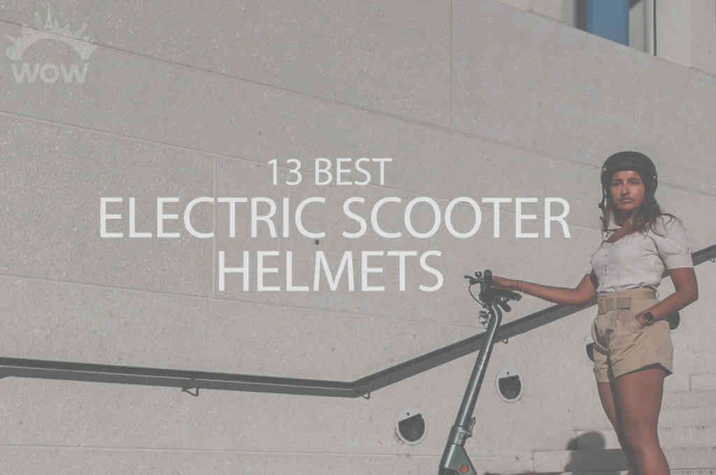13 Best Electric Scooter Helmets
