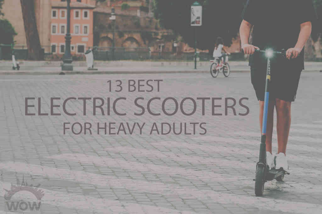 13 Best Electric Scooters for Heavy Adults