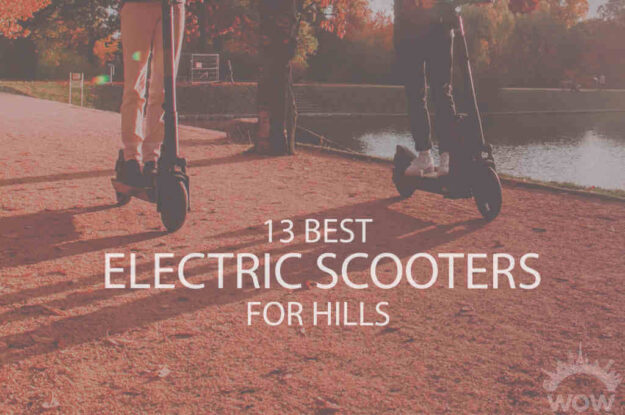 13 Best Electric Scooters for Hills