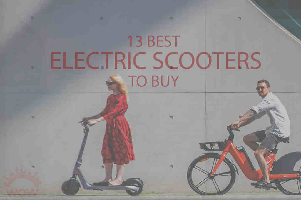 13 Best Electric Scooters to Buy