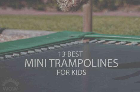 13 Best Mini Trampolines for Kids
