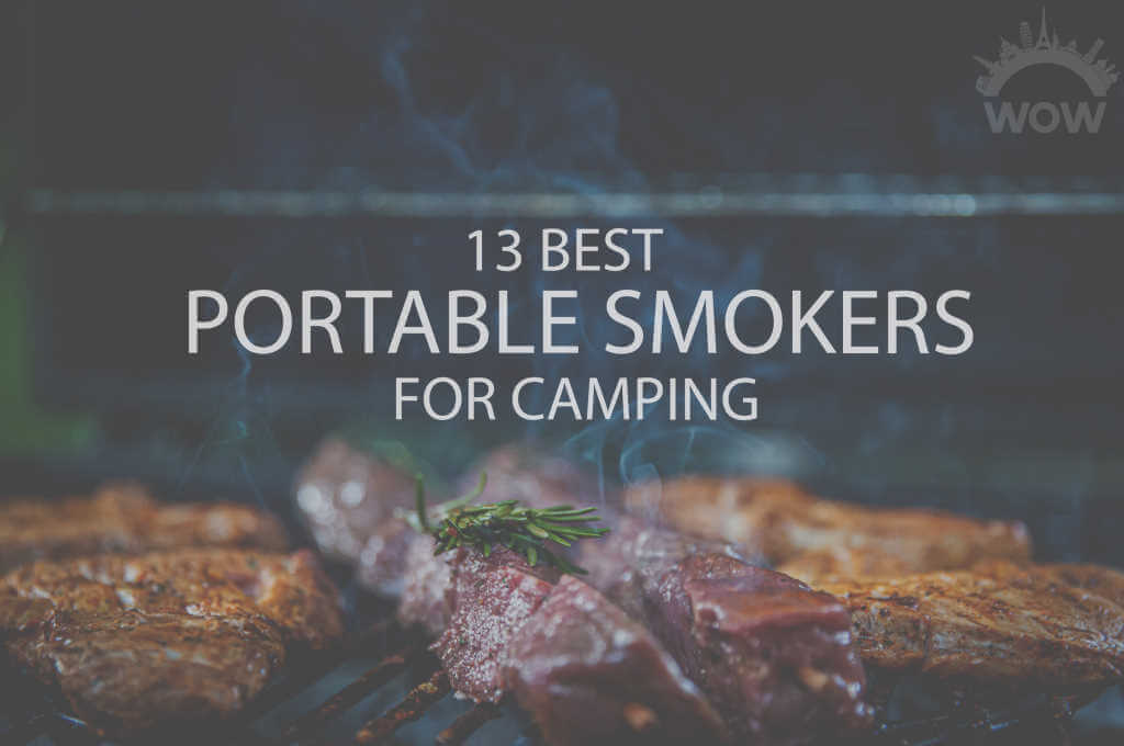13 Best Portable Smokers for Camping