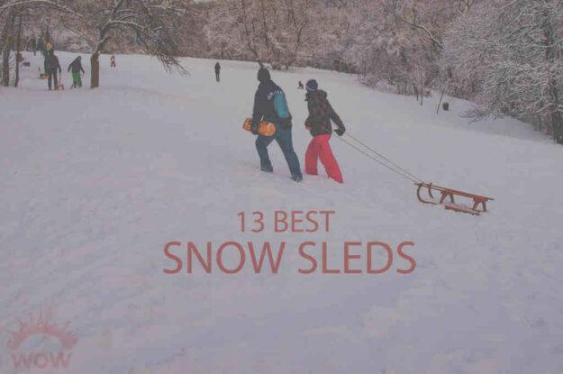 13 Best Snow Sleds