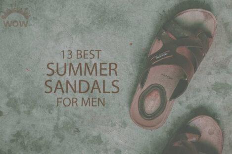 13 Best Summer Sandals for Men