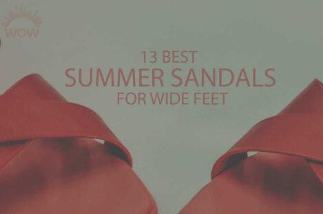 13 Best Summer Sandals for Wide Feet