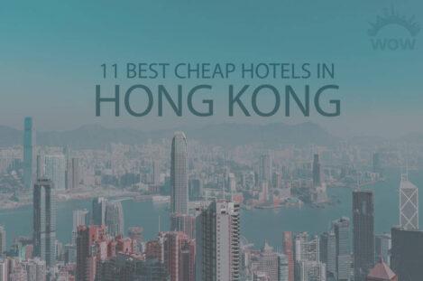 11 Best Cheap Hotels in Hong Kong