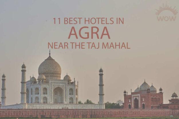 11 Best Hotels in Agra Near the Taj Mahal