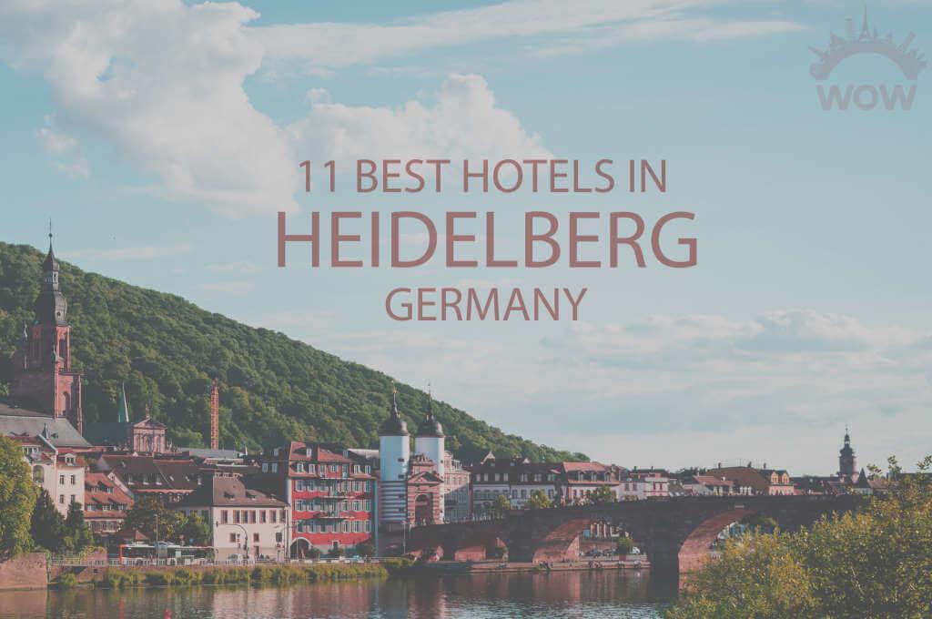 11 Best Hotels in Heidelberg, Germany
