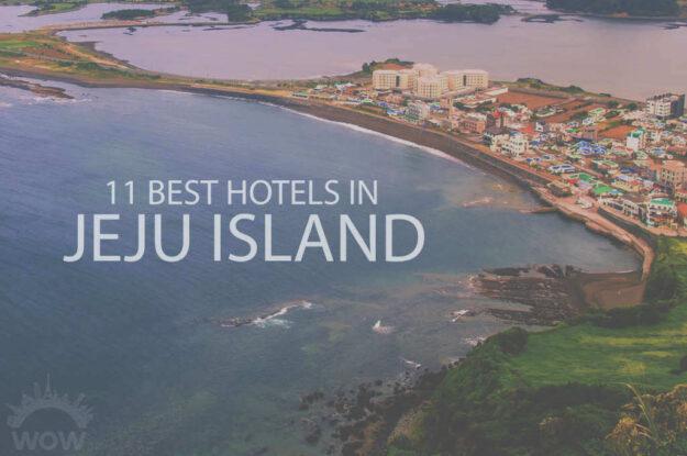 11 Best Hotels in Jeju Island
