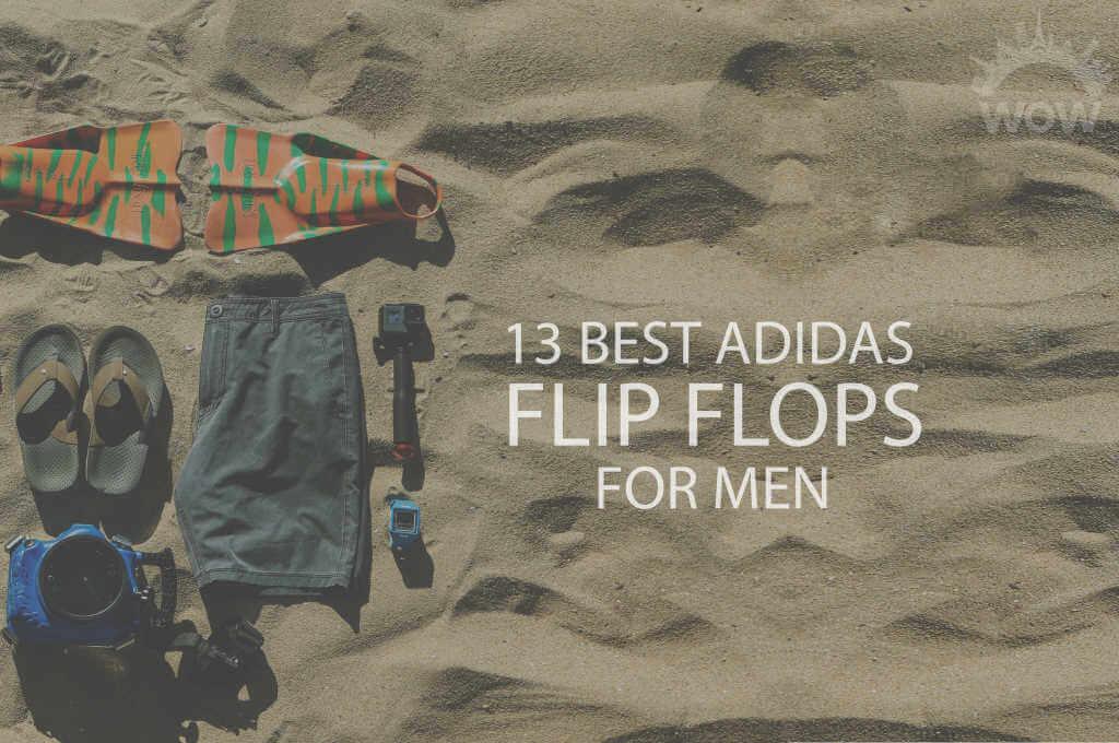 13 Best Adidas Flip Flops for Men