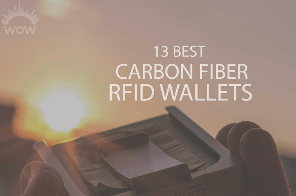 13 Best Carbon Fiber RFID Wallets
