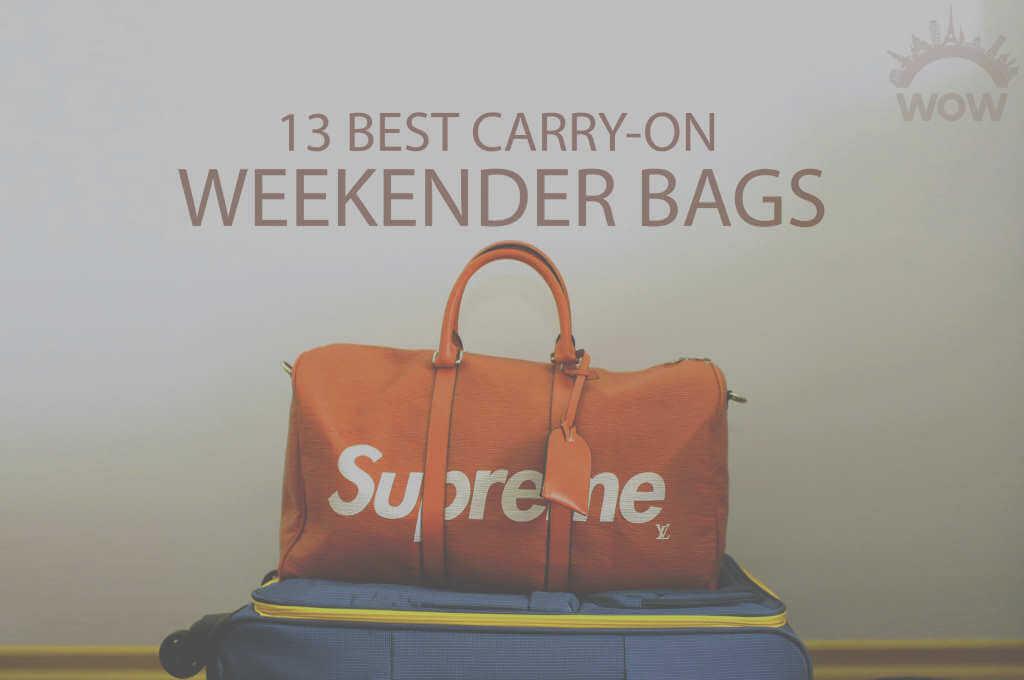 13 Best Carry-On Weekender Bags