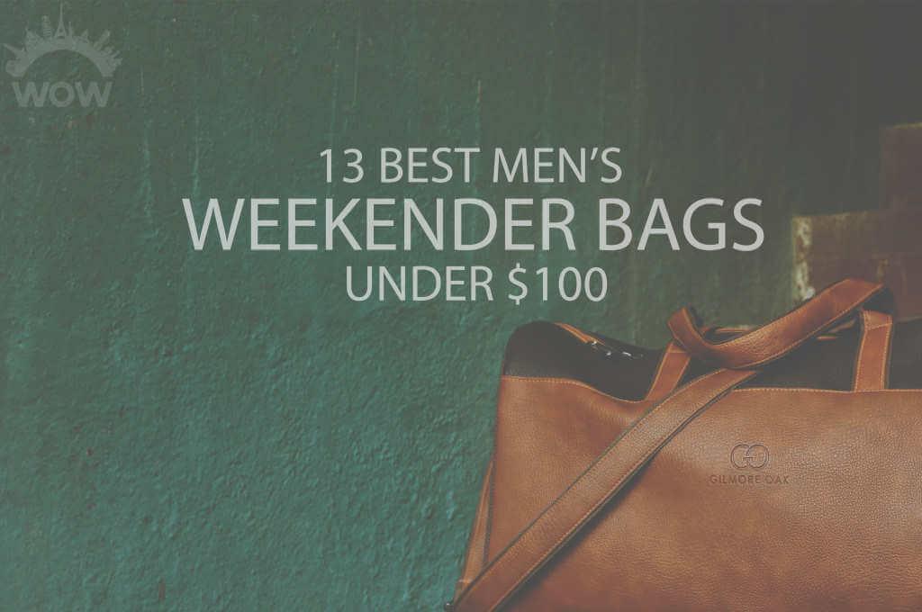 13 Best Men's Weekender Bags under $100
