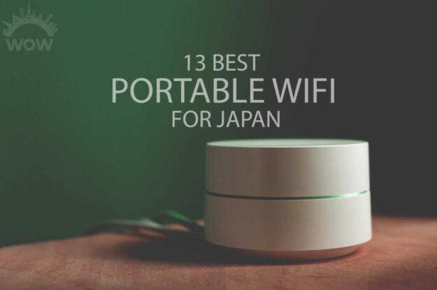 13 Best Pocket WiFi for Japan