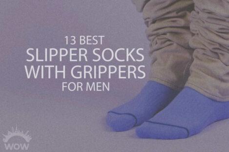 13 Best Slipper Socks with Grippers for Men