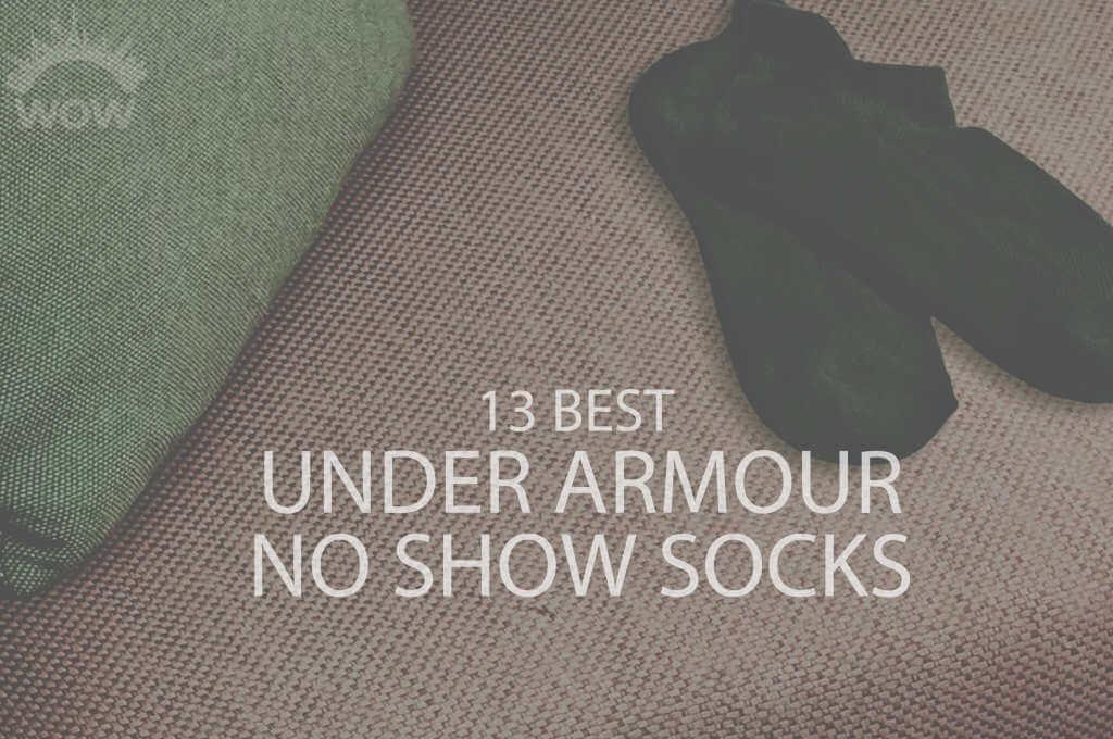 13 Best Under Armour No Show Socks