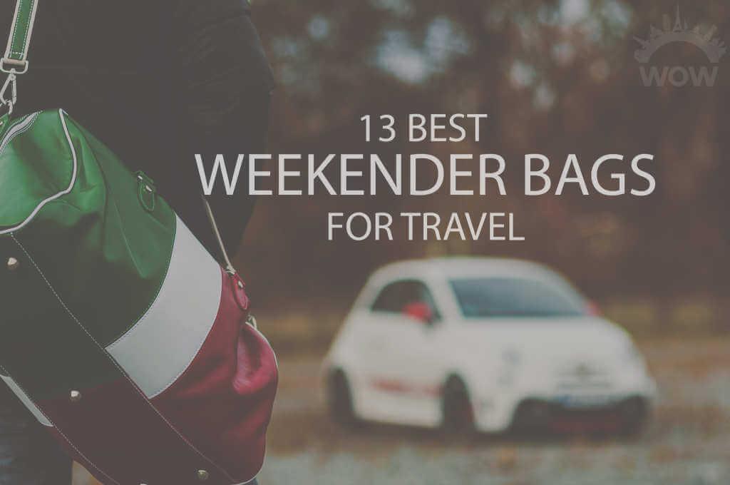 13 Best Weekender Bags for Travel